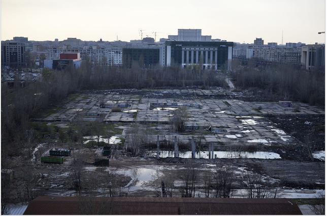 """Proiectul Gabrielei Firea pentru Esplanada din centrul Bucureştiului, unde Dragnea anunţase că va fi construit """"Cartierul Justiţiei"""""""