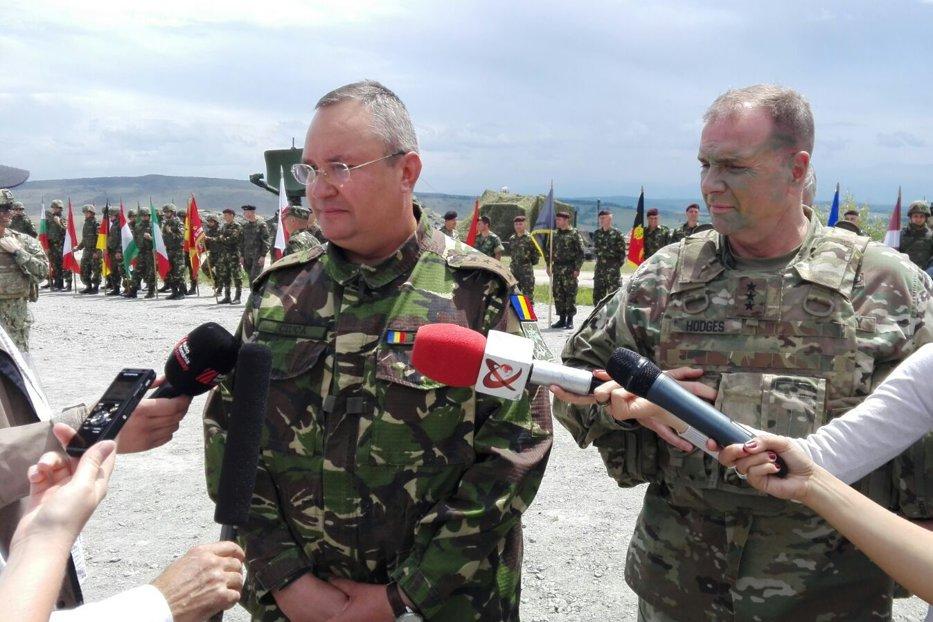 """Comandantul trupelor americane din Europa, la Cincu: """"Ruşii respectă întotdeauna puterea. Am demonstrat că suntem împreună şi pregătiţi"""""""