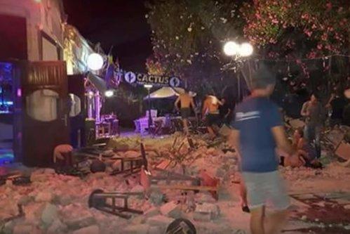 Cutremur puternic în Turcia şi Grecia. Doi morţi şi peste 200 de răniţi. Insula Kos, cea mai afectată
