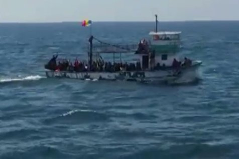 90 de imigranţi, interceptaţi de poliţiştii de frontieră români în  Mărea Negră
