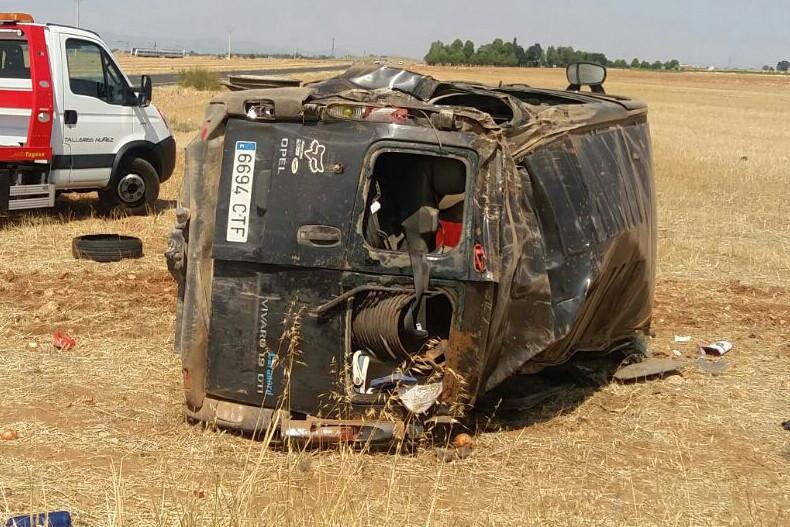 Grav accident de circulaţie în Spania: O româncă a murit şi alţi şapte au fost răniţi