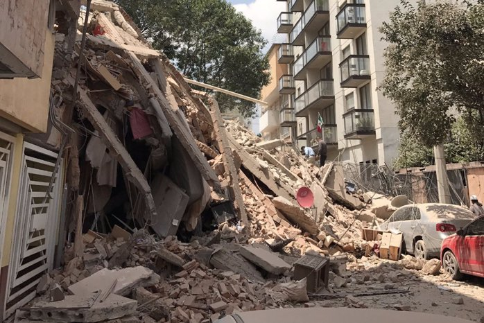 Tragedie în Mexic. Cutremur de 7,1 grade pe Richter