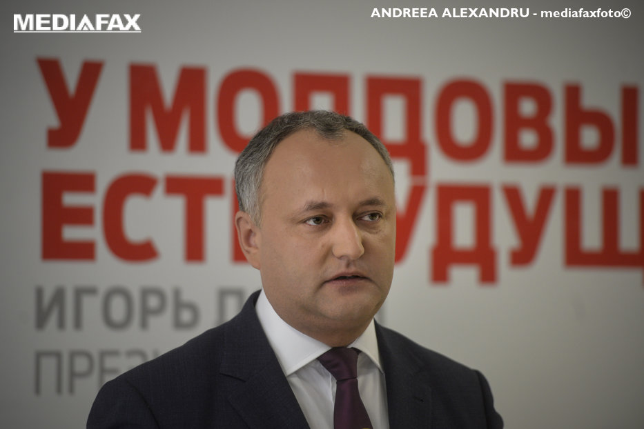 Preşedintele Parlamentului Moldovei şi-a cerut scuze pentru declaraţiile lui Dodon contra României