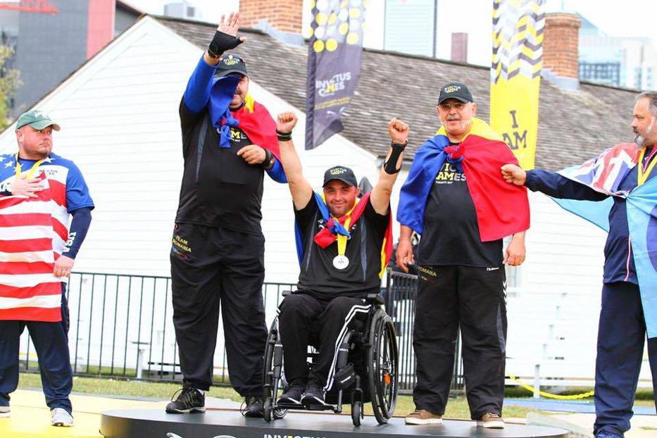 România, medalie de AUR la Jocurile Invictus. Echipa formată din Ionuţ Butoi, Dorin Petruţ şi Nicuşor-Augustin Pegulescu a câştigat finala la tir cu arcul