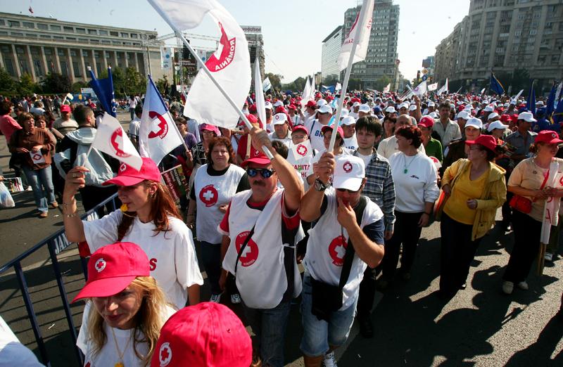 Sindicaliştii din sănătate nu renunţă la proteste. Anunţul făcut după discuţiile de la Guvern