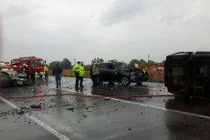 Un mort şi 14 răniţi, într-un grav accident în Ialomiţa. PLANUL ROŞU de intervenţie, activat. FOTO
