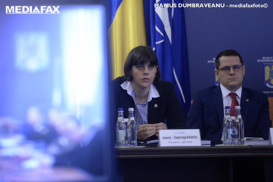 Directorul SRI Eduard Hellvig şi şefa DNA Laura Codruţa Kovesi, chemaţi la audieri în Comisia SIPA