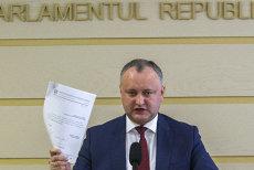 Preşedintele Igor Dodon, suspendat temporar de Curtea Constituţională a Republicii Moldova