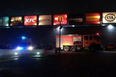 Incendiu într-un mare mall din Constanţa.Toţi clienţii au fost evacuaţi
