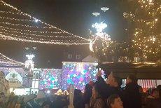 Cel mai frumos Târg de Crăciun din România s-a deschis. VIDEO