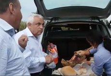 Ce a făcut Petre Daea după ce a vorbit cu producătorii de carne şi ouă: Sunt lucruri pe care nu le poţi explica