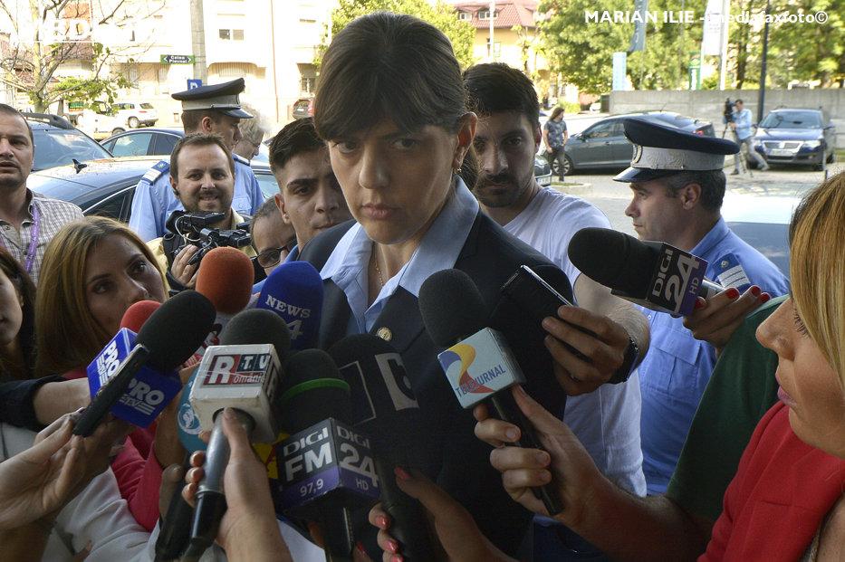 """O judecătoare CSM cere Inspecţiei Judiciare s-o ancheteze pe Kovesi, după ce şefa DNA a participat la o dezbatere """"cu caracter politic"""". Plenul a respins solicitarea"""