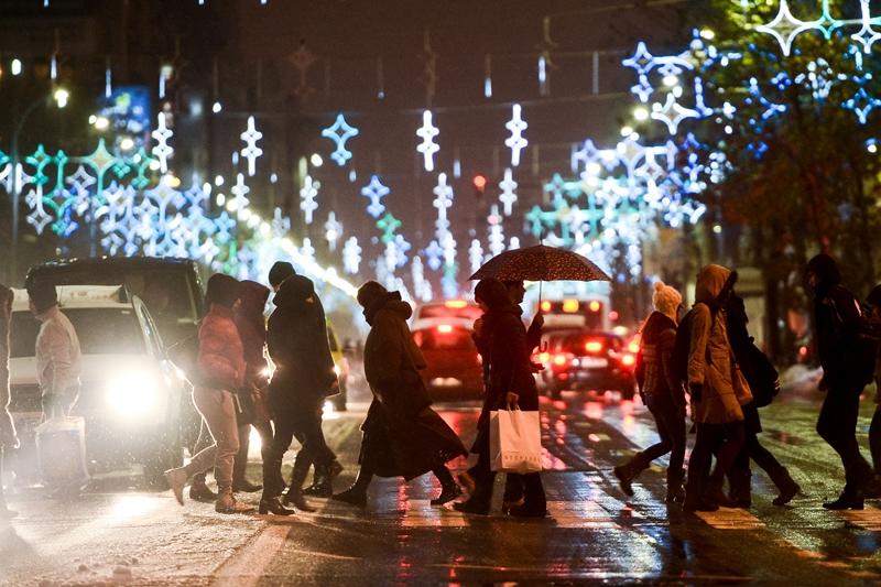 Prognoza meteo. Cum va fi vremea de Crăciun în Bucureşti