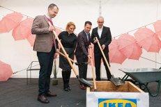 A început construcţia celui de-al doilea magazin IKEA din România. Angajările pentru cele 300 de locuri de muncă încep în curând