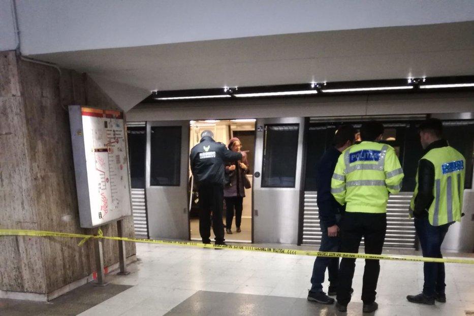 Ultimele clipe din viaţa fetei ucise la metrou. Suspecta, incoerentă la audieri