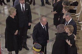 Regele emerit al Spaniei Juan Carlos i-a adus un omagiu Regelui Mihai la Palatul Regal