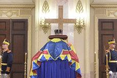 Regele Carl Gustaf al Suediei i-a adus un omagiu Regelui Mihai la Palatul Regal
