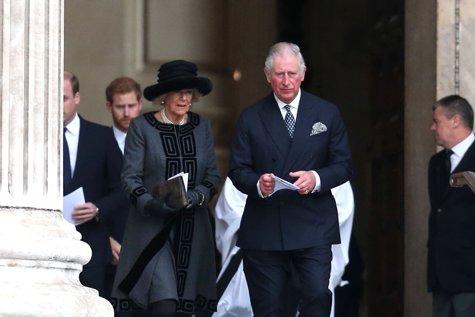 Prinţul Charles participă la funeraliile Regelui Mihai. La Palatul Regal a ajuns şi Klaus Iohannis
