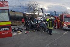 Accident înfiorător cu patru maşini lângă Braşov: un copil, printre cele patru persoane care au murit. VIDEO