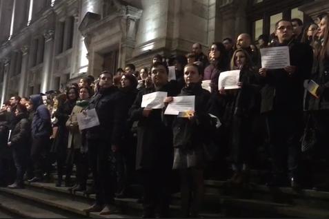 Curtea de Apel Bucureşti se delimitează de protestul magistraţilor:  Este