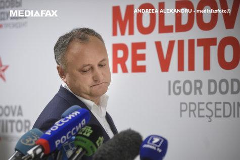 Igor Dodon, suspendat pentru a treia oară. Reacţia preşedintelui Republicii Moldova