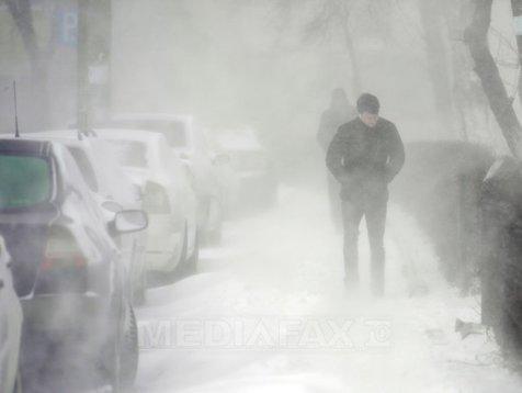 Cod galben de ninsoare în jumătate de ţară. Anunţul MAI despre zonele afectate de vremea rea