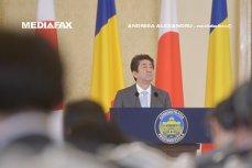 """Românii cer scuze în nume personal pentru """"lipsa de curtoazie"""" în privinţa vizitei istorice a premierului Japoniei în ţara noastră"""