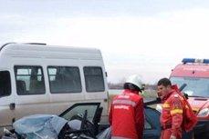 Cinci oameni răniţi într-un accident pe şoseaua de centură a municipiului Drobeta-Turnu Severin