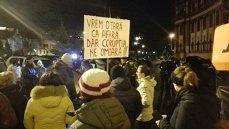 Aproape 10.000 de protestatari la Cluj şi Timişoara