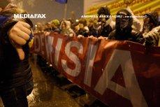 """Protestele din România, în presa internaţională: """"Zeci de mii de oameni au înfruntat ninsoarea pentru a protesta faţă de corupţie"""""""