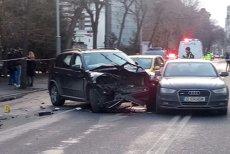 Şoferul drogat care a provocat un accident pe Bd. Dacia, REŢINUT. Răspunsul uluitor dat de acesta când a fost întrebat de ce mergea cu viteză mare. UPDATE