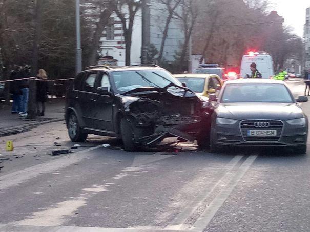 Şoferul care ar fi provocat accidentul de pe Bulevardul Dacia, sub influenţa drogurilor, a fost ARESTAT