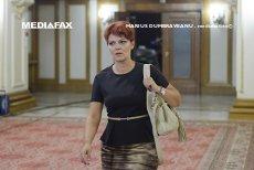 """PNL depune luni moţiunea împotriva ministrului Muncii. Lia Olguţa Vasilescu, acuzată că a creat """"haos"""" în sistemul de salarizare şi cel fiscal"""