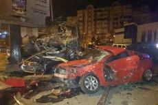 """O şoferiţă din Constanţa a făcut praf 11 maşini şi un stâlp. Un martor, declaraţie incredibilă: """"E apocaliptic. N-am mai văzut aşa ceva"""". GALERIE FOTO"""