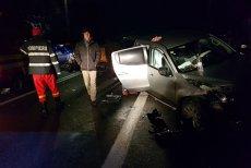 Accident teribil în Vâlcea. Şase persoane au fost rănite, după ce un şofer a adormit la volan. FOTO