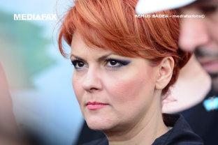 """Liberalii o critică pe Lia Olguţa Vasilescu şi îi oferă """"brevetul pentru invenţia salariului negativ"""". """"Doamnă ministru, primiţi cartonaşul roşu!"""""""