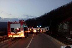 Accident cu doi morţi şi patru răniţi în Cluj: a intrat pe contrasens şi a fost spulberat de un tir