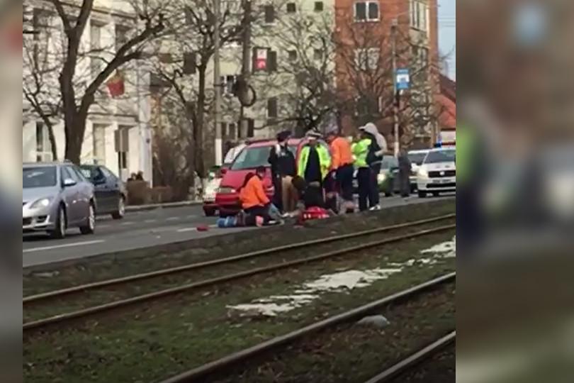 Un poliţist beat a omorât un om pe o trecere de pietoni din Arad