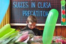 Număr impresionant de copii înscrişi în clasa pregătitoare, în doar două zile