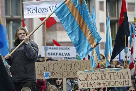 Miting pentru autonomia Ţinutului Secuiesc. Peste 40.000 de persoane sunt aşteptate la manifestaţii
