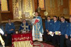 """Singurul preot jandarm din România. Se împarte între slujbele la biserică şi misiunile operative din Jandarmerie: """"Eu nu renunţ"""""""