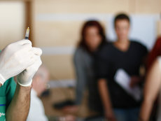 Poliţist din Slatina, în stare gravă după ce a fost diagnosticat cu gripă porcină