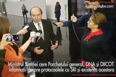Ministrul Justiţiei cere Parchetului General, DNA şi DIICOT informaţii despre protocoalele cu SRI