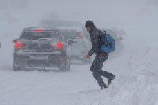 Noi avertizări cod galben de ninsoare, polei şi frig. HARTA ANM