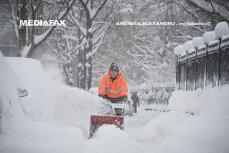 """Primăria Capitalei, despre traficul din Capitală în condiţii de iarnă. """"Operatorii de deszăpezire au fost somaţi să împrăştie materiale antiderapante"""""""