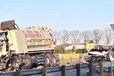 Cinci români au murit într-un accident rutier produs în Olanda