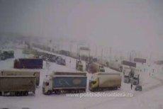 Un Punct de Trecere a Frontierei din România a fost închis. Restricţii de trafic şi pentru PTF Bechet