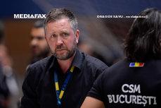 Lovitură pentru CSM Bucureşti: Antrenorul suedez Per Johansson pleacă de la campioana României