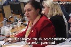 Un senator PNL a fost găsit de ANI în incompatibilitate