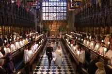 Ceremonia religioasă a Prinţului Harry şi a lui Meghan Markle s-a încheiat